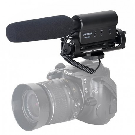 Micrófono Takstar SGC-598 para Videos Profesionales