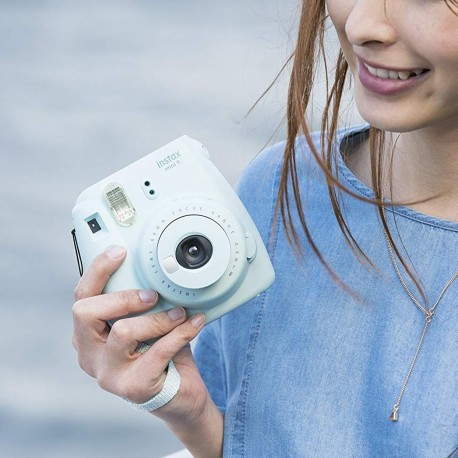 Cámara Instantánea Fujifilm Instax Mini 9 Azul Cielo