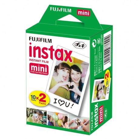 Película Fujifilm Instax Mini Instantánea Papel De Fotografía 20 Unidades
