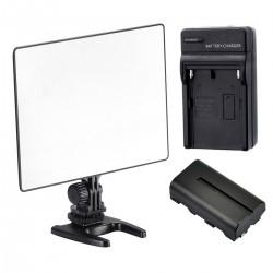 Kit Luz LED Yongnuo Yn300 Air Bateria y Cargador para Video