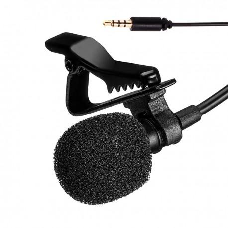 Micrófono de Solapa para Videos - Cámaras Smartphones PC