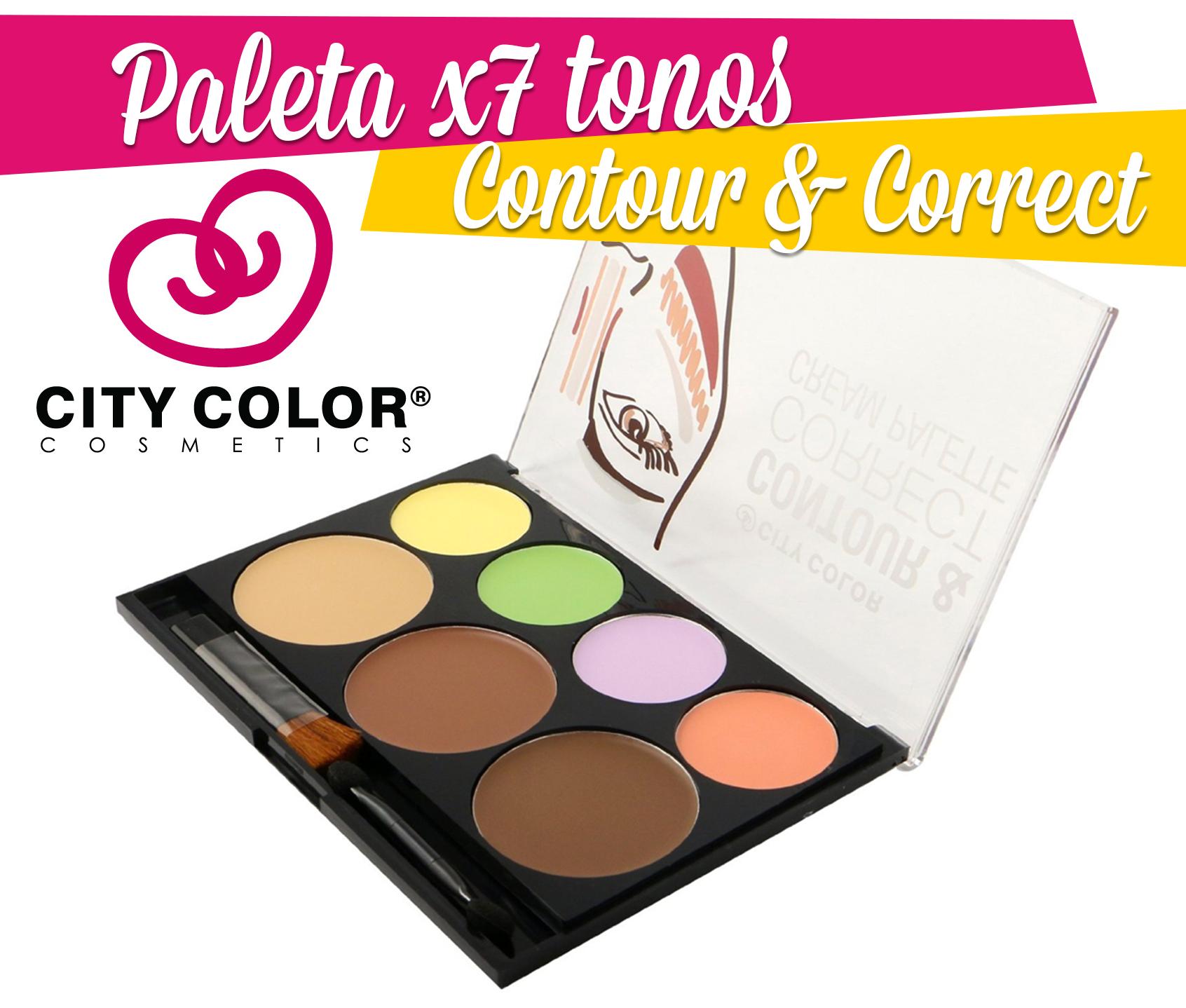 paleta contouring
