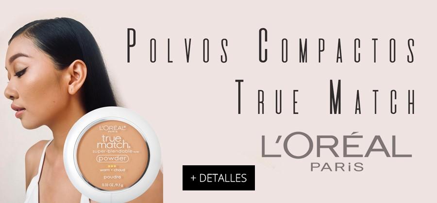 Compuesto por finas particulas de micro-polvo, True Match de L'Oreal Paris proporciona una cobertura versátil!