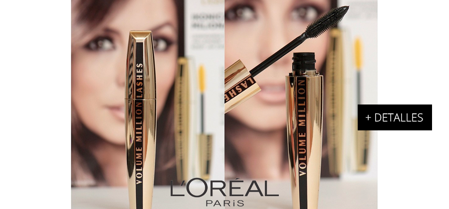 Pestañina Voluminous Million Lashes de L'oreal - Black!